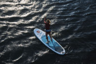 Paddling the Red Paddle Co 10'6″ Ride