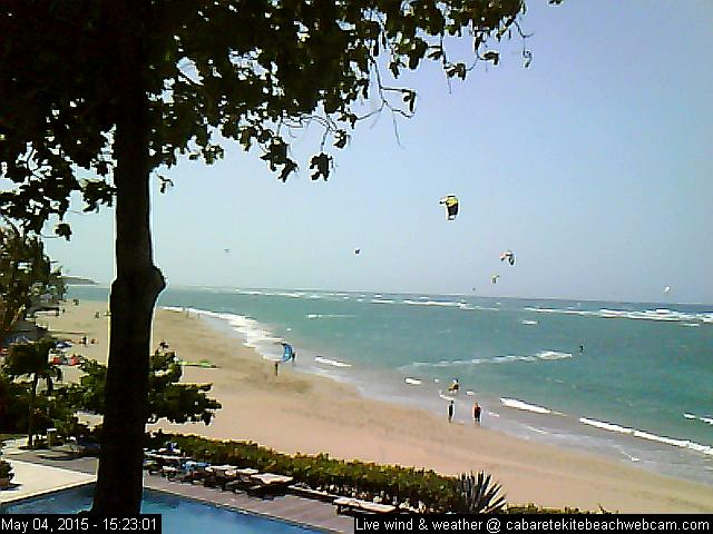 Latest webcam image - Cabarete Kite Beach